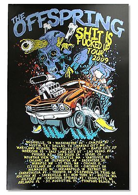 """The Offspring """"hydro"""" Wall Poster New Official"""