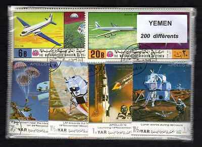 Yemen 200 timbres différents