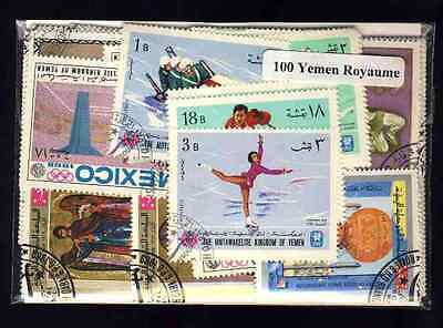 Yemen Royaume - Kingdom 100 timbres différents