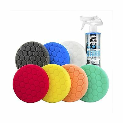 Chemical Guys BUF_HEXKITS_8P - Hex-Logic Buffing Pad Kit 8 Piece (5.5 Inch)