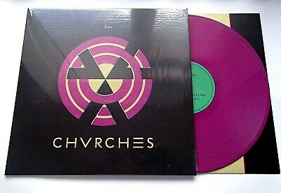 Chvrches - Lies - 5 Track Purple Vinyl 12""