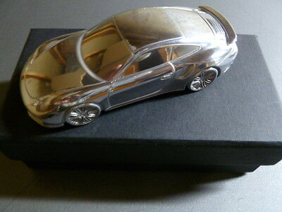 2014 Porsche 911 Turbo Billet Aluminum 1:43rd Scale Model RARE! Awesome L@@K