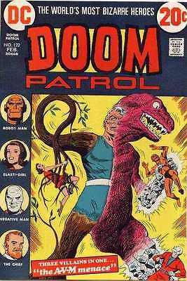 Doom Patrol (1964 series) #122 in Very Good + condition. FREE bag/board