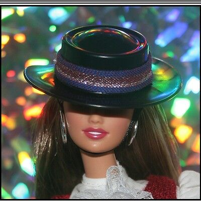 ESTATE SALE Barbie Dolls Of The World Chile Fashion Hat For Collectors, Mattel