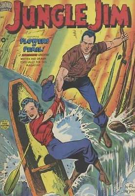 Jungle Jim (1949 series) #14 in Very Good + condition. FREE bag/board