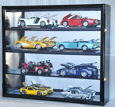 1:18 Scale Diecast Car Model Hotwheel Wall Display Case 98% UV Lockable Die Cast