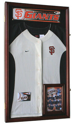 Small Jersey T-Shirt Kids Shirt Uniform Display Case Cabinet Shadowbox