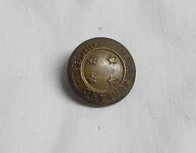 Vintage Wwi New Zealand  Brass Uniform Button............ ...............99