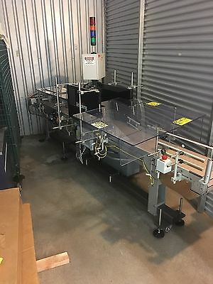 Labeling Systems Inc. Model 1400S Case Labeler W/ Model 20.84 Labeling Head