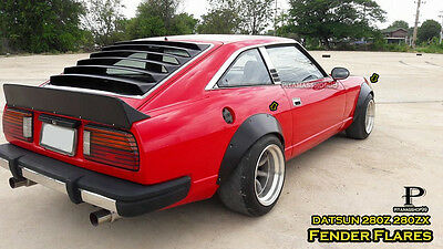 V2 set for DATSUN 280Z 280ZX Fender Flares Wheel arch premium sheet metal JDM