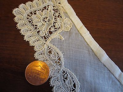 Antique Handmade Tape Lace Collar with Coddonnet Dora Dwelley Estate