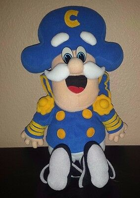 "VINTAGE 1992 CAP'N CRUNCH DOLL FROM QUAKER OATS CEREAL 18"" PLUSH CAPTAIN capn"