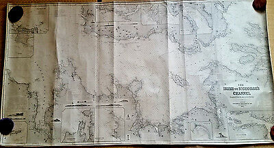 Blueback chart: Celtic Sea, Irish Sea, Bristol Channel, Imray 1872