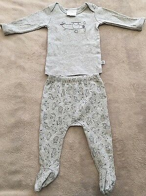 MARQUISE Cotton Footed ✈️ Planes Pj Set GUC 000. 10 Items = $5 Post