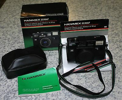 Hanimex 35MAF camera used for info see photo