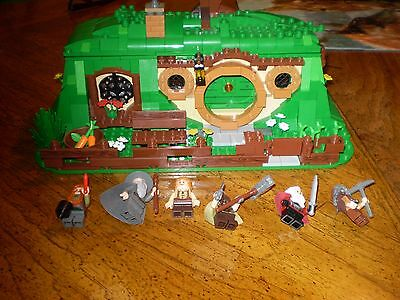 LEGO Hobbit LOTR~An Unexpected Gathering~79003 All 6 Minifigures~100% Complete