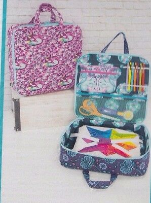 PATTERN - Amethyst Project Bag - handy bag PATTERN - Sew Sweetness