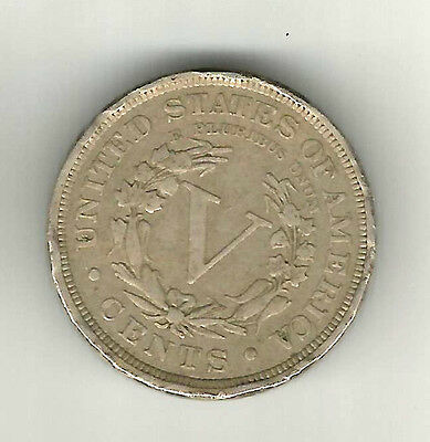 USA UNITED STATES OF AMERICA 1900 nickel 5 cents coin GOOD DEFINITION