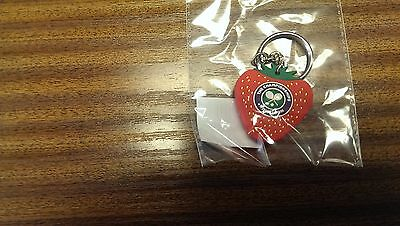 Wimbledon Strawberry Keyring In Packs Of 25