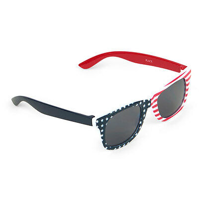 NWT Toddler Boys TCP Americana Retro Sunglasses 4th of July 2-4