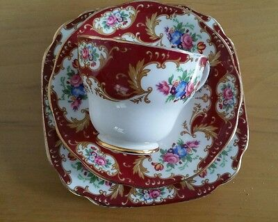 ROYAL STANDARD LADY FAYRE TEA CUP & SAUCER  And Side Plate FLORAL