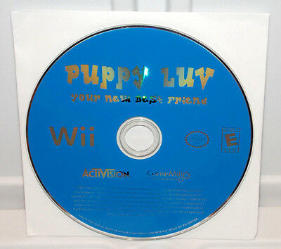 Puppy Luv Your New Best Friend (Nintendo Wii, 2007) Love Pets Petz Video Game