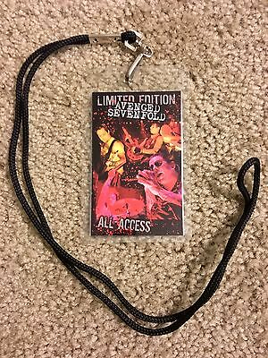 Avenged Sevenfold All Access Lanyard