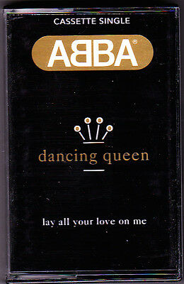 ABBA - Dancing Queen / Lay All Your Love [MC TAPE] Cassette Single Neu