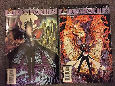 the book of lost souls comic 1 and 2