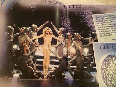 Britney Spears tour book Piece Of Me collection livre, revue
