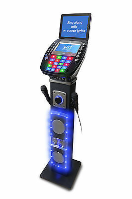 EKS878-BT Karaoke Bluetooth Pedestal Karaoke System with Light Effects