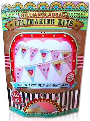 Best in Show Bunting Small Wet Felting kit
