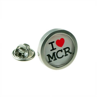 I Love Manchester Lapel Pin Badge XOMTP225