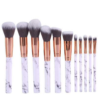 10Pcs Professional make up Brush Cosmetic Set Eyeshadow Foundation Beauty Blush