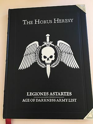Horus Heresy Legiones Astartes Age Of Darkness Limited Edition Army List