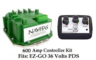 EZ-GO PDS 600 Amp Controller, With On The Fly Programmer