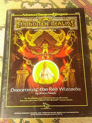 AD&D 1st Edition Forgotten Realms Dreams of the Red Wizards