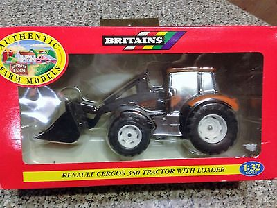 Britains  Renault Cergos 350 Tractor with Loader  1/32 scale