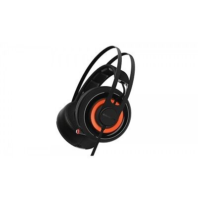 STEELSERIES Auriculares gaming cascos SteelSeries Siberia 650, USB, Negro
