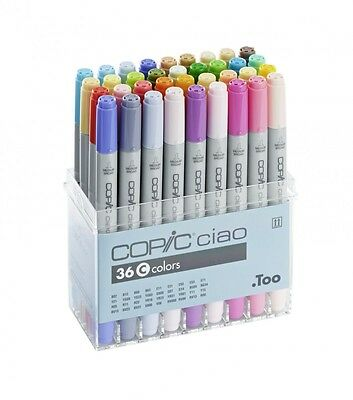 Copic ciao SET 22075363 mit 36 Stiften Set C COPIC Marker Copicset  Markerset
