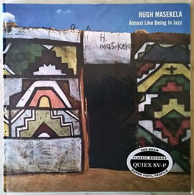 HUGH MASEKELA ALMOST LIKE BEING IN JAZZ RARE 2LP 200g CLASSIC RECORDS