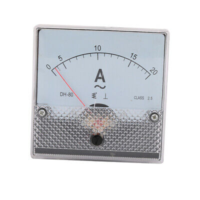 uxcell DH-80 Class 2.5 Accuracy AC 0-200A Analog Panel Meter Ammeter Amperemeter