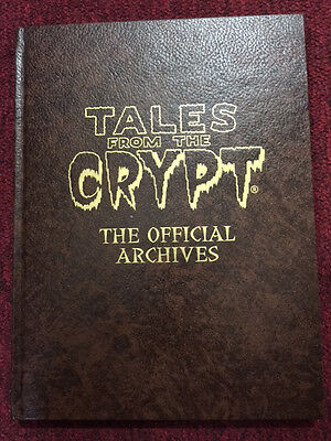 TALES FROM THE CRYPT-THE OFFICIAL ARCHIVES EC HARDCOVER Rotting Corpse Ed /500