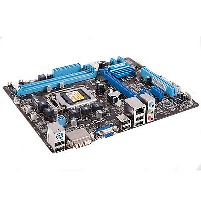Asus P8H61-M LX2, LGA1155, H61, DDR3, VGA/DVI-D, HD Audio, Micro ATX *Pulled*