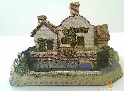David Winter LOCK KEEPER'S COTTAGE From The Midlands Collection Boxed With COA