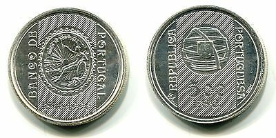 """500 Escudos Portugal 1996 Silber """"Bank of Portugal"""""""