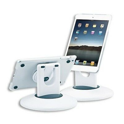 Connect Research CRT903 Pied de table multi-positions pour iPad mini Blanc