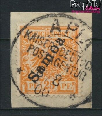 Samoa, German Colony 5a fine used / cancelled 1900 Imperial Yacht (8984472