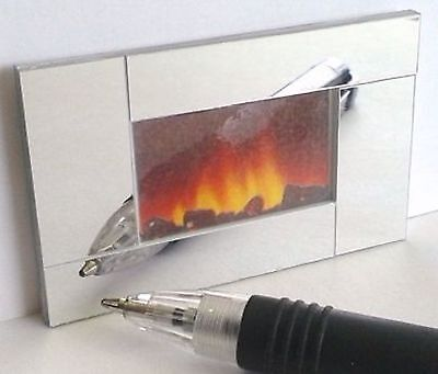 Dolls House Miniature 1/12th Scale Modern Wall Fire - Non Working - Various
