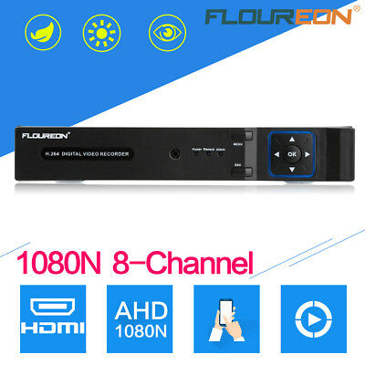 8 Kanal H.264 1080N CCTV HDMI Sicherheit DVR Video Recorder Überwachungssystem